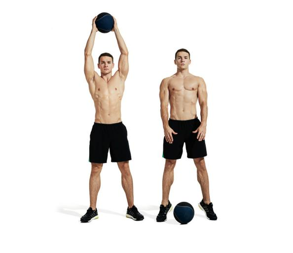 The Best Medicine Ball Ab Workout