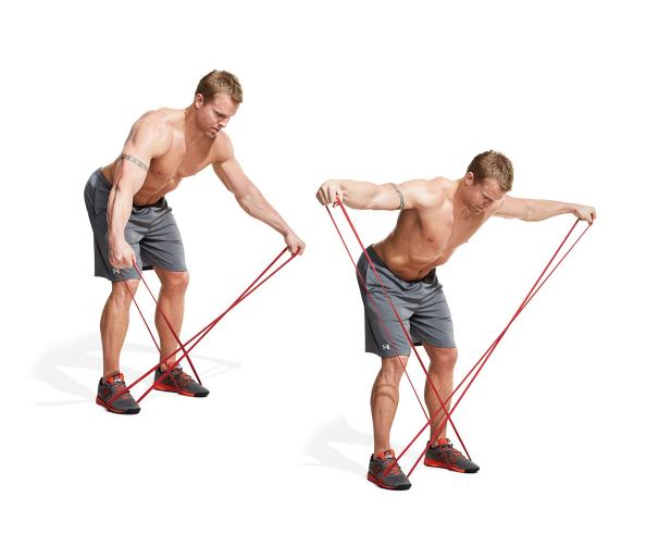Band bent over lateral raise the 30 best shoulder for Floor underhand cable fly