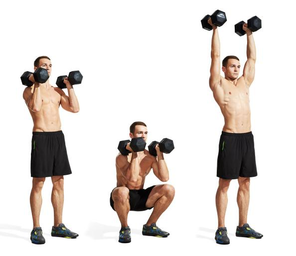 The 25 most powerful exercises from the 21 day shred men s fitness