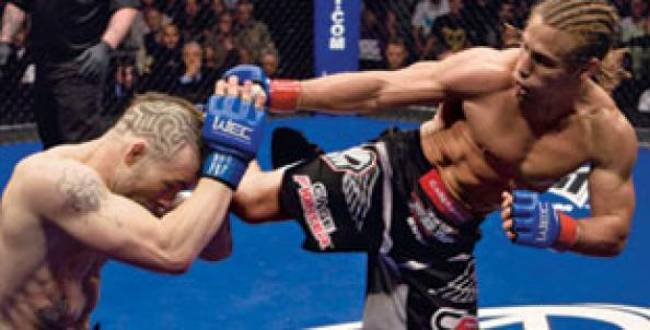 Do Mma Fighters Eat Fast Food