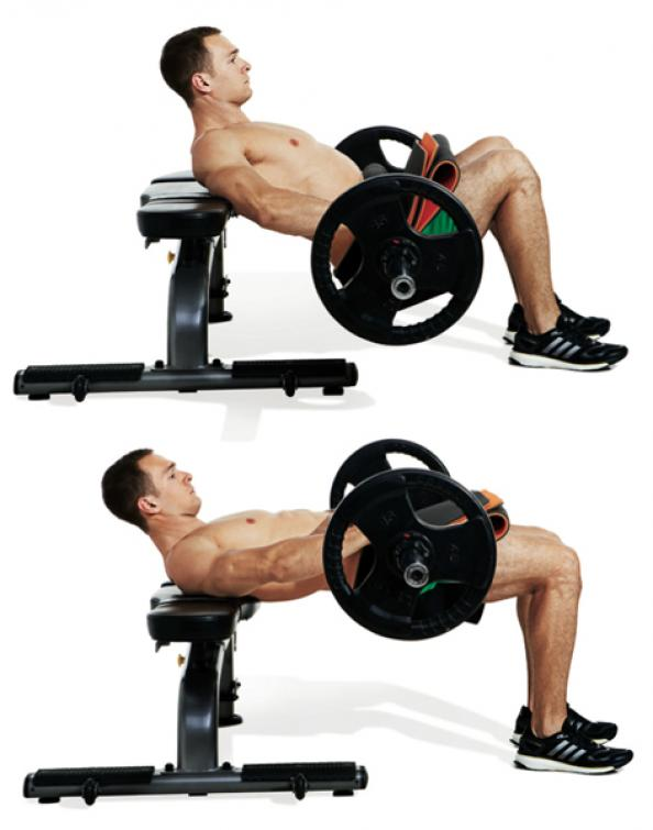 The Most Important Exercises for Men - Barbell Hip Thrust ...