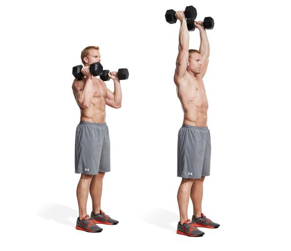 Dumbbell Neutral Grip Overhead Press
