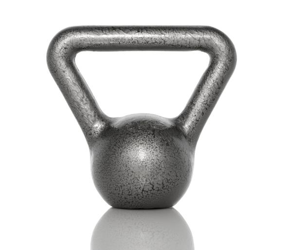 Full-body kettlebell workout for muscle growth