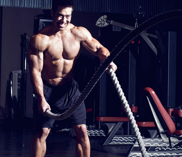 The Battle Ropes Workout