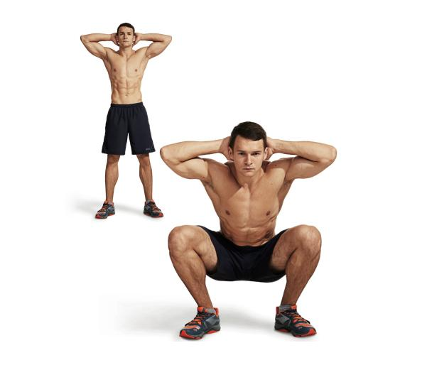 Anytime exercises to get you ripped