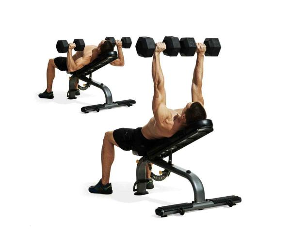 Dumbbell Chest Workouts For Men: Build A Bigger Chest And Triceps