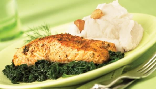 Spinach salmon recipes easy