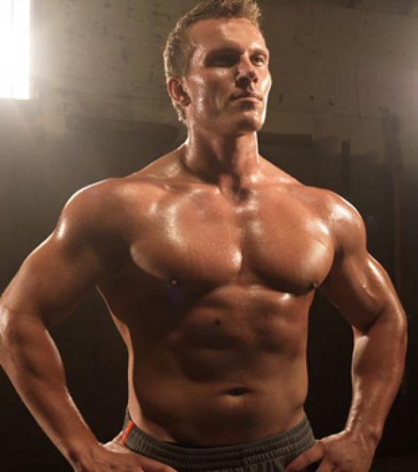 how to get chest muscles cut
