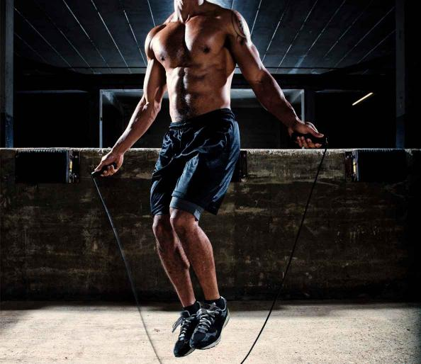 Interval training to get ripped