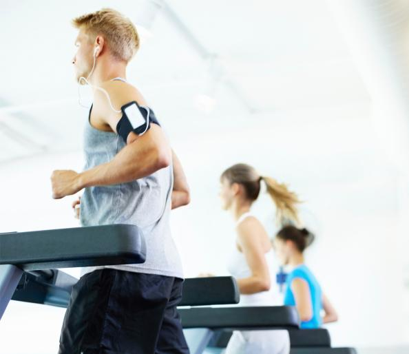 Get ripped-interval training and weights workout