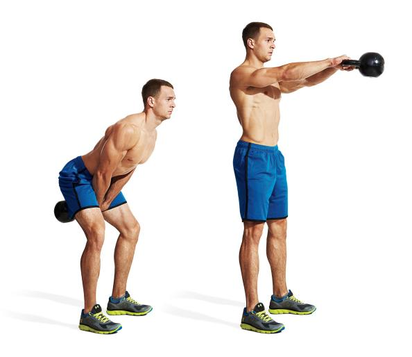 20 Minute Double Kettlebell Workout: The 20-Minute Fat-Burning Kettlebell Complex