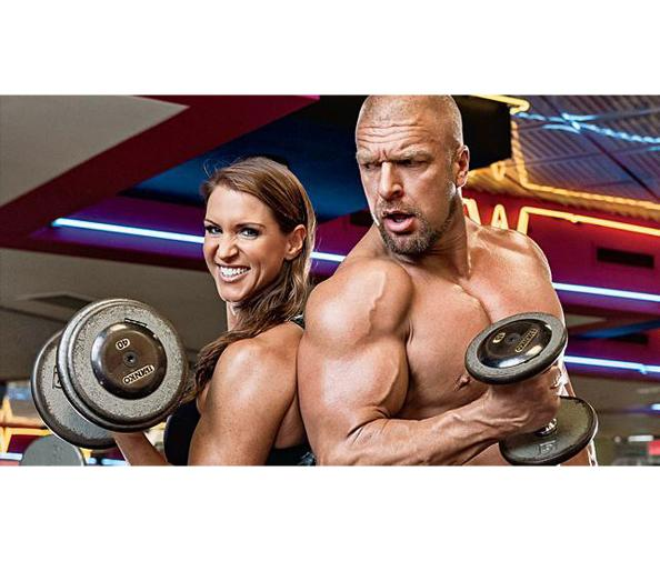 Stephanie Mcmahon Triple h Pictures Triple h And Stephanie Mcmahon