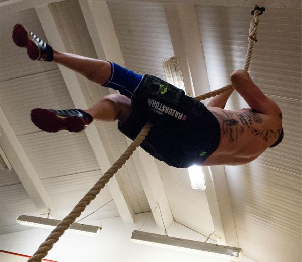 Rope climbs crossfit