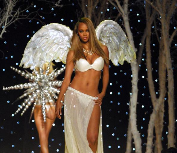 Tyra Banks Young Victoria S Secret: Victoria's Secret's 10 Hottest Angels Ever: #4 Tyra Banks