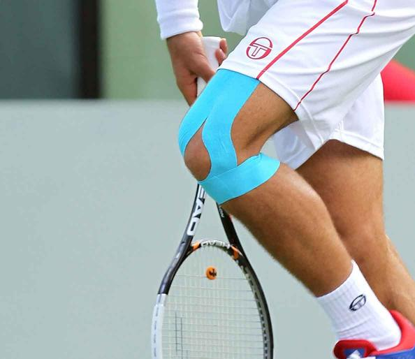 Improve sports performance with kinesiology tape