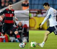 Ozil and Messi
