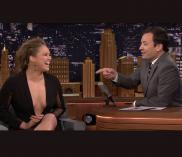 """Ronda Rousey appears on """"The Tonight Show"""" on Oct. 6, 2015"""