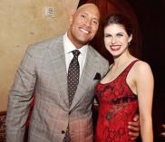 "Alexandra Daddario is set to appear in ""Baywatch"" with Dwayne ""The Rock"" Johnson."